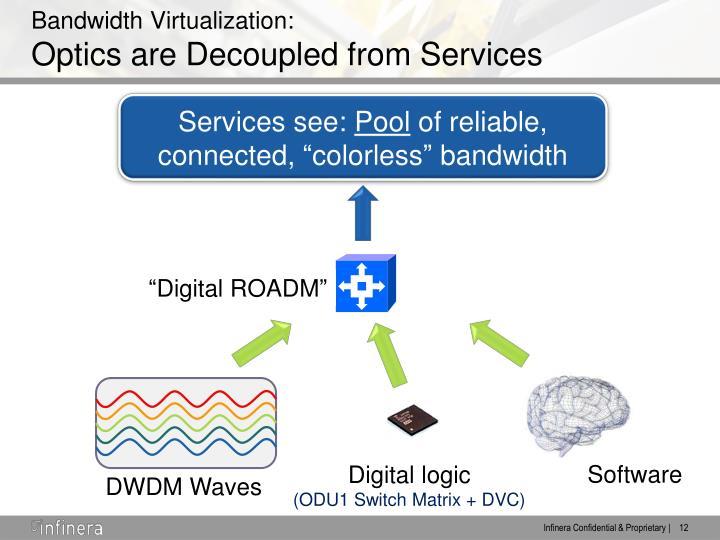 Bandwidth Virtualization: