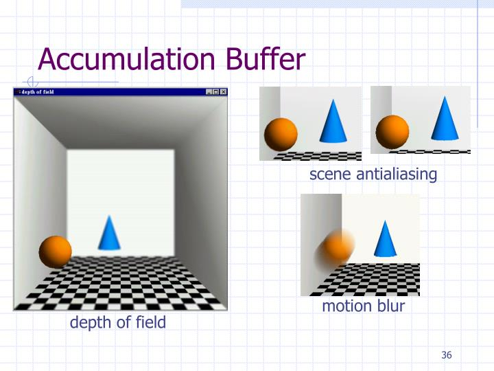 Accumulation Buffer