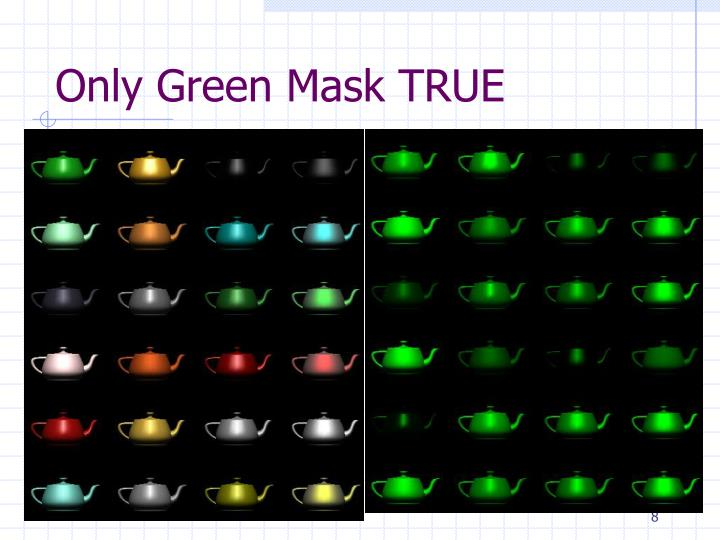 Only Green Mask TRUE