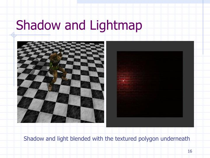 Shadow and Lightmap