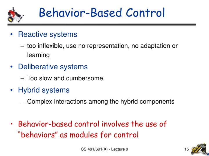 Behavior-Based Control