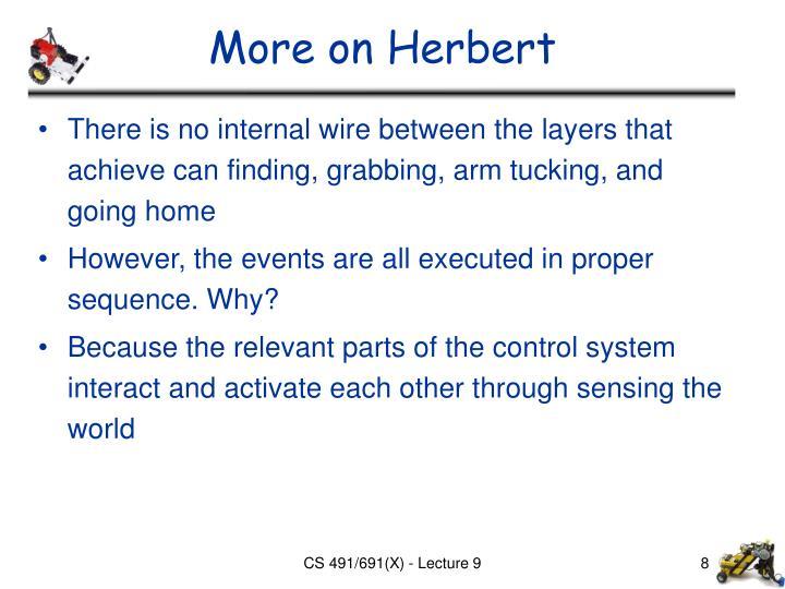 More on Herbert
