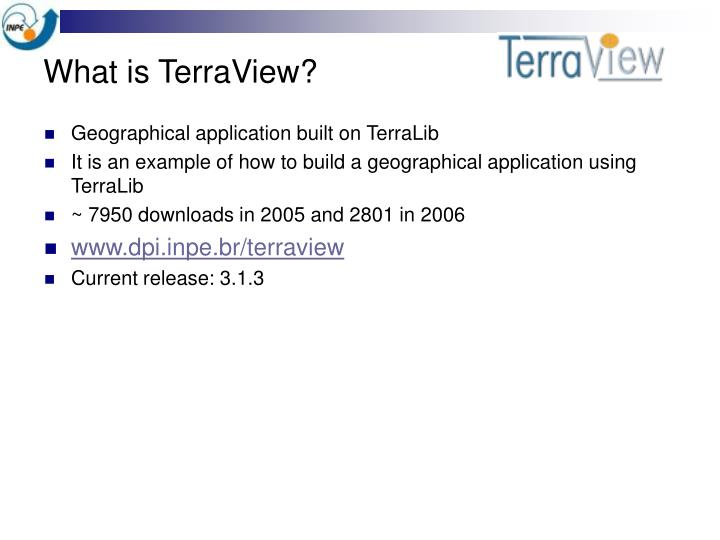 What is TerraView?