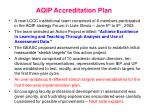 aqip accreditation plan