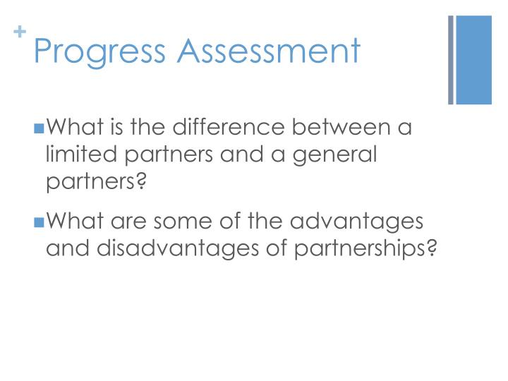 Progress Assessment