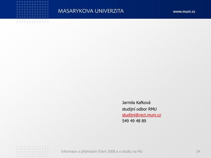 Jarmila Kafková
