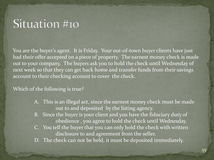Situation #10