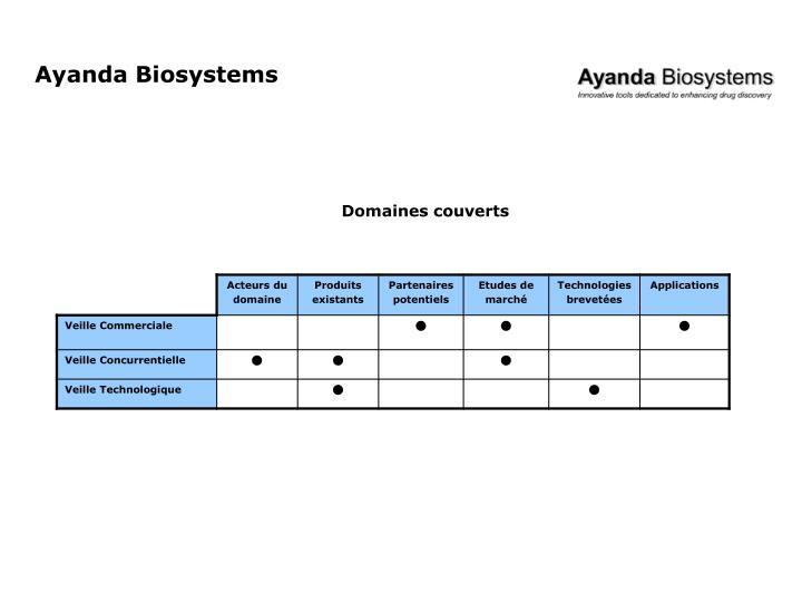 Ayanda Biosystems