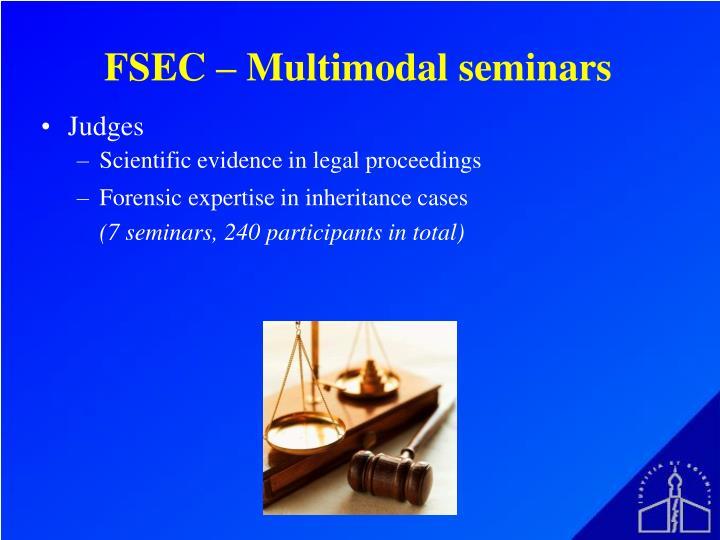 FSEC – Multimodal