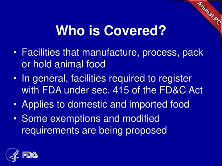 Who is Covered?