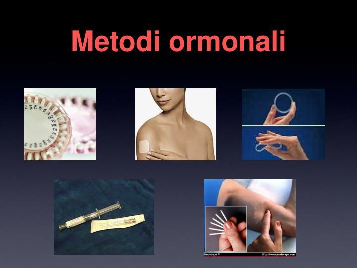 Metodi ormonali