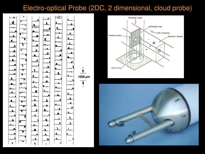 Electro-optical Probe (2DC, 2 dimensional, cloud probe)