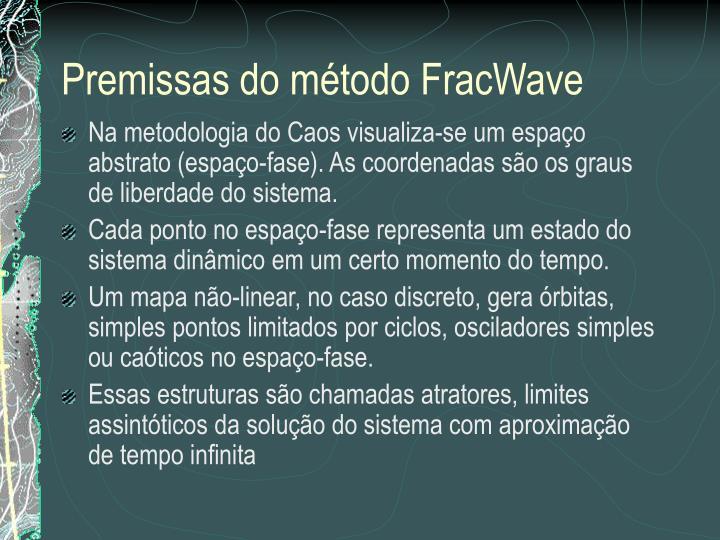 Premissas do método FracWave