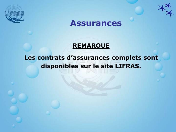 Assurances