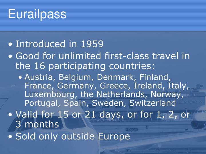Eurailpass