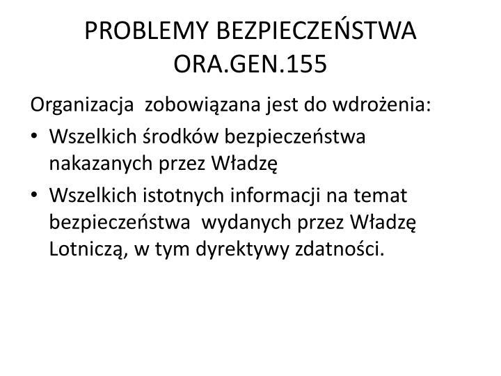 PROBLEMY BEZPIECZEŃSTWA
