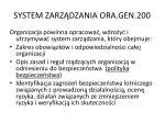 system zarz dzania ora gen 200