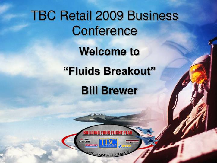 Tbc retail 2009 business conference