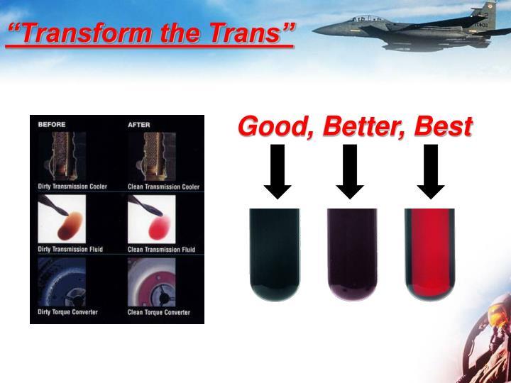 """Transform the Trans"""