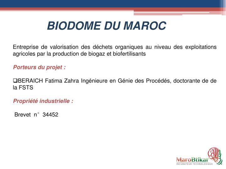 BIODOME DU MAROC