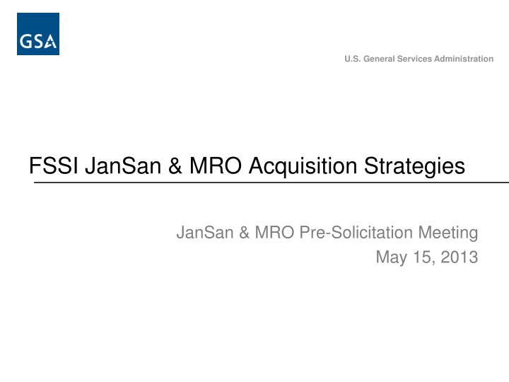 Fssi jansan mro acquisition strategies