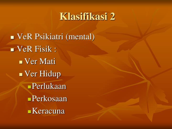 Klasifikasi 2