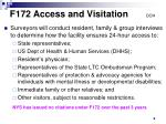 f172 access and visitation doh
