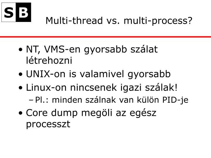 Multi-thread vs. multi-process?