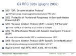 gli rfc 326x giugno 2002