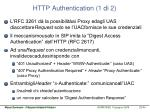http authentication 1 di 2
