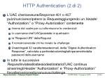 http authentication 2 di 2