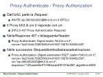 proxy authenticate proxy authorization