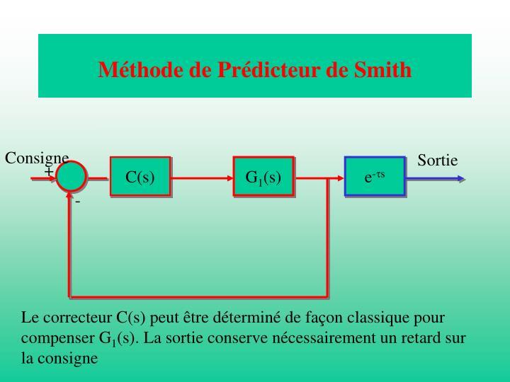Méthode de Prédicteur de Smith