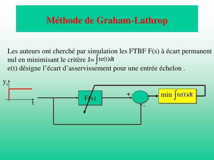Méthode de Graham-Lathrop