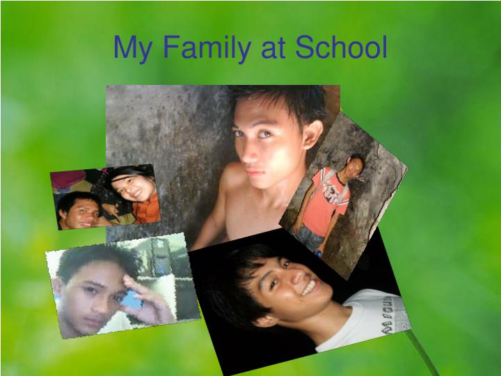 My Family at School