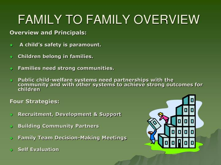 Family to family overview