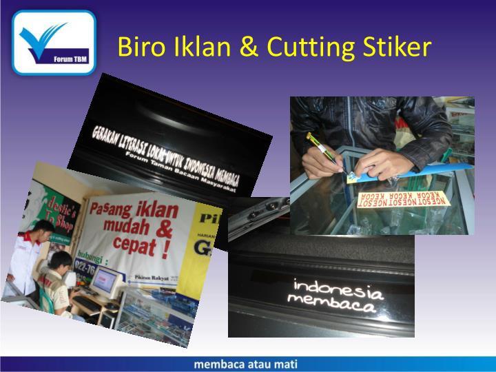 Biro Iklan & Cutting Stiker