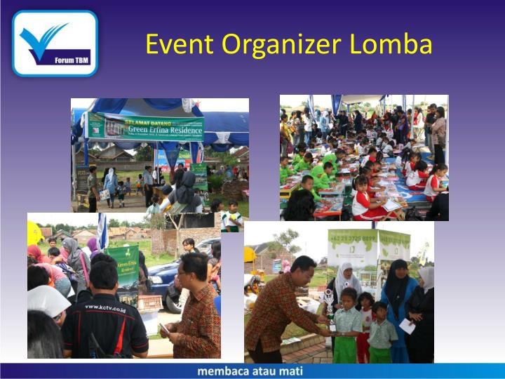 Event Organizer Lomba