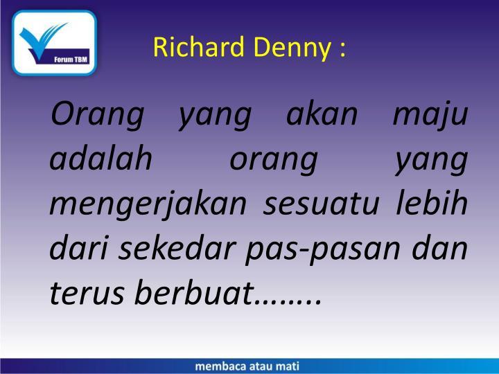 Richard Denny :