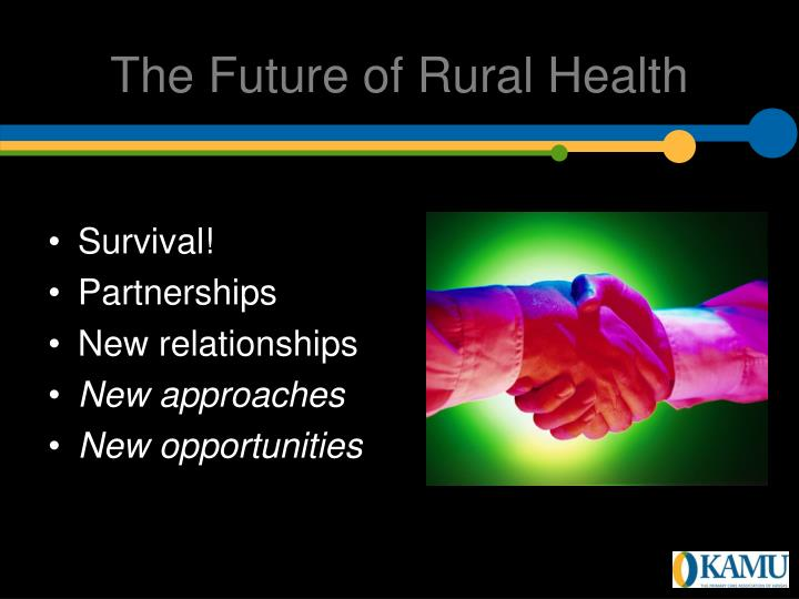The Future of Rural Health