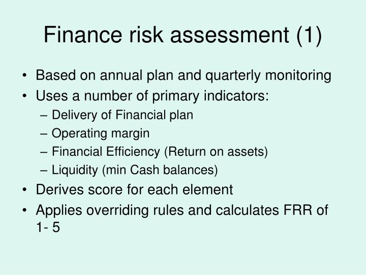 Finance risk assessment (1)