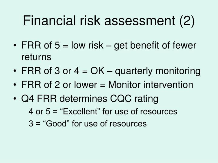 Financial risk assessment (2)