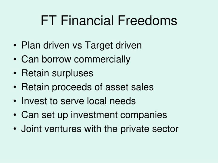 Ft financial freedoms