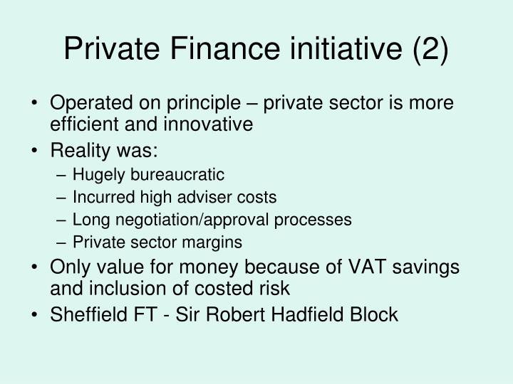 Private Finance initiative (2)