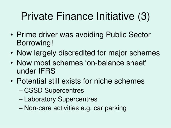 Private Finance Initiative (3)