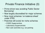 private finance initiative 3