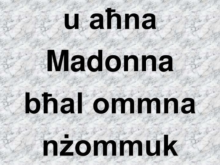 u aħna