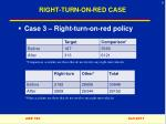 right turn on red case