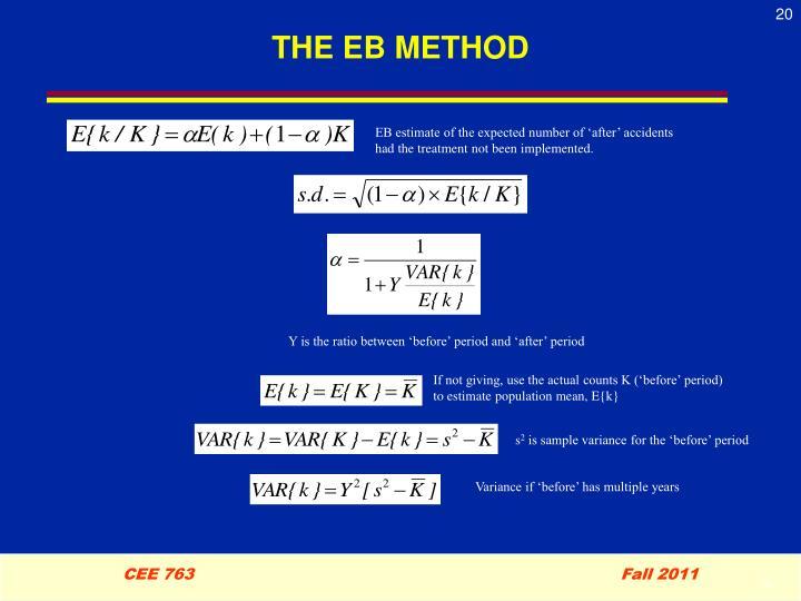THE EB METHOD