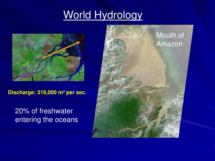 World Hydrology